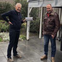 Jan Wildhagen neemt na ruim 25 jaar afscheid van het bestuur WTV-Alphen